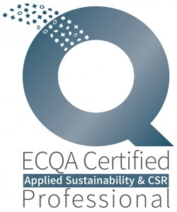Logo ECQA Certified AS+CSR Professional