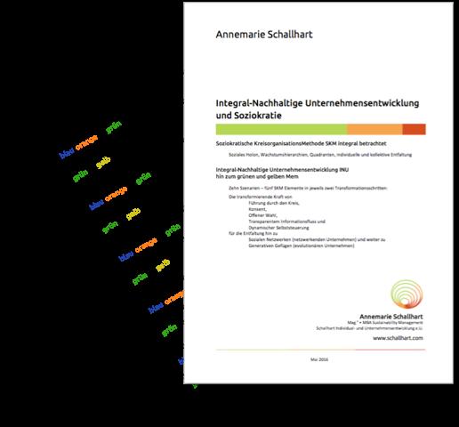 Skript Integral-Nachhaltige Unternehmensentwicklung und Soziokratie